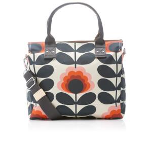 Orla Kiely Women's Sunset Zip Messenger Bag - Sunset