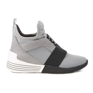 Kendall + Kylie Women's Braydin Elastic Trainers - Grey/Black/Grey