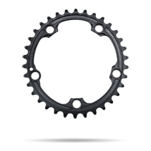 AbsoluteBLACK 110BCD SRAM 5 Bolt Spider Mount Oval Chain Ring (Premium) - Inner Ring