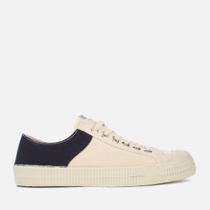 Novetsa X Universal Works Men's Star Master Two Tone Trainers - Beige/Navy/Ecru