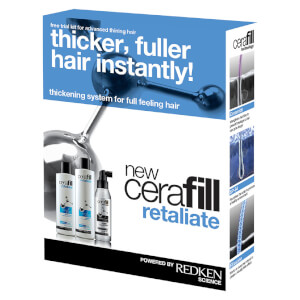 Redken Cerafill Retaliate Kit for Advanced Thinning Hair 22.3oz