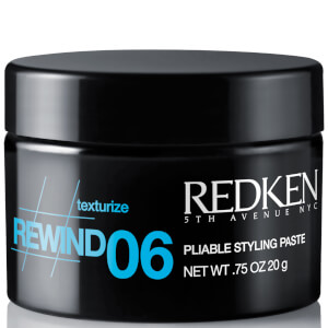 Redken Rewind 06 Pliable Texturizing Hair Styling Paste 0.75oz