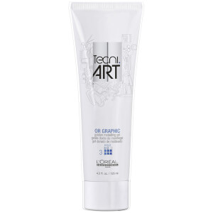 L'Oréal Professionnel Tecni.ART Or Graphic Modelling Gel 4.2 fl oz