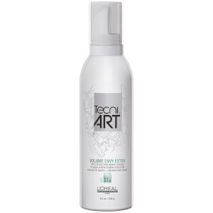 L'Oréal Professionnel Tecni.ART Volume Envy Extra Strong Hold Mousse 8.2oz