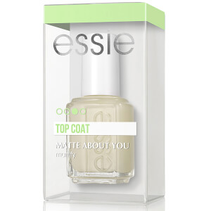 essie Professional Matte About You Top Coat 0.46oz