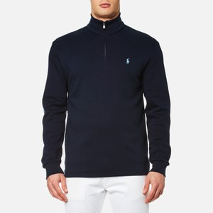 Polo Ralph Lauren Men's 1/4 Zip Pima Cotton Sweatshirt - Navy