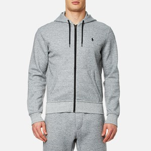 Polo Ralph Lauren Men's Double Knitted Tech Hoody - Grey