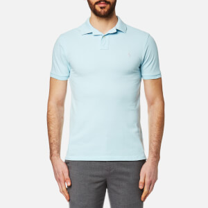 Polo Ralph Lauren Men's Pique Polo Shirt - Baby Blue