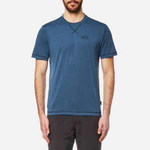 Jack Wolfskin Men's Crosstrail T-Shirt - Ocean Wave