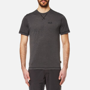 Jack Wolfskin Men's Crosstrail T-Shirt - Dark Steel