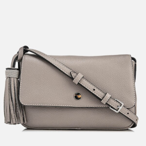 Elizabeth and James Women's Finley Flap Cross Body Bag - Dove Grey