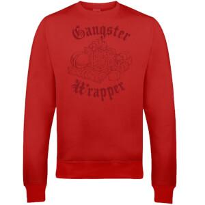 """Sudadera Navidad """"Gangster Wrapper"""" - Hombre/Mujer - Rojo"""