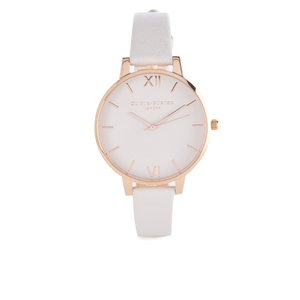 Olivia Burton Women's Big Dial Blush and Rose Gold Watch - Rose Gold