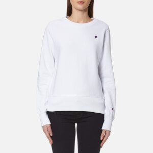 Champion Women's Crew Neck Sweatshirt - White