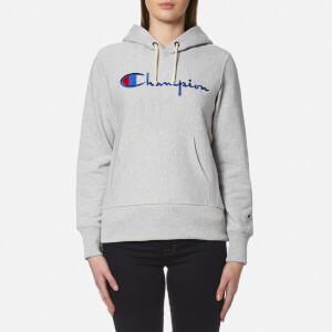 Champion Women's Hooded Sweatshirt - Grey