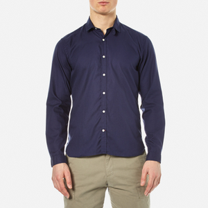 Oliver Spencer Men's Clerkenwell Tab Shirt - Astley Navy