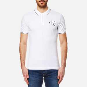 Calvin Klein Men's True Icon Slim Fit Polo Shirt - Bright White