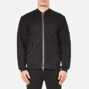 Helmut Lang Men's Patchwork Bomber Jacket - Black