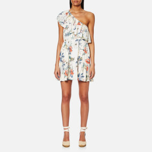 MINKPINK Women's Garden Party One Shoulder Dress - Multi