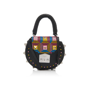 SALAR Women's Mimi Mini Pop Bag - Black/Multi