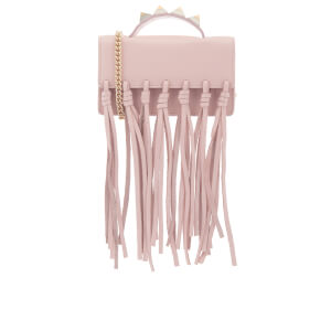 SALAR Women's Zoe Knots Bag - Soft Pink