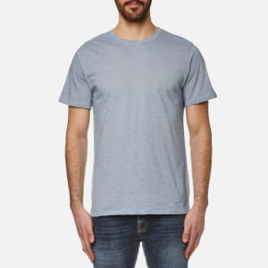 A.P.C. Men's Stitch T-Shirt - Bleu