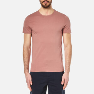 Selected Homme Men's Tone O-Neck T-Shirt - Burlwood