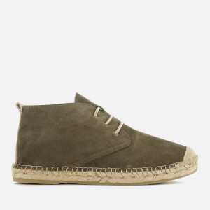 Selected Homme Men's Shhajo Chukka Espadrilles - Green Olive
