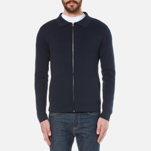 Selected Homme Men's Jakob Knitted Jacket - Dark Sapphire