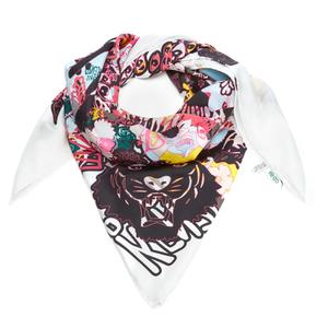 KENZO Women's Iconics Multi Icons Silk Scarf - Multi