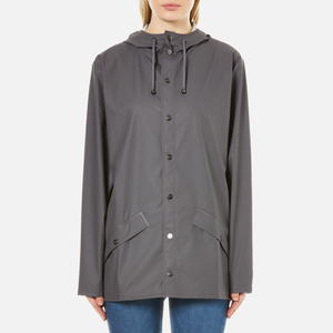 RAINS Jacket - Smoke - L-XL