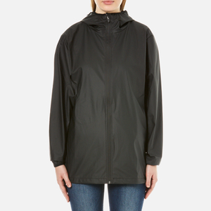 RAINS Base Jacket - Black - L-XL