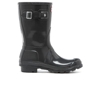 Hunter Women's Original Short Gloss Wellies - Dark Slate