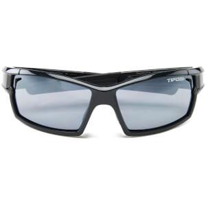 Tifosi Pro Escalate Shield & Full Sunglasses - Gloss Black/Smoke