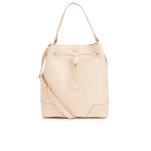 Furla Women's Stacy Medium Drawstring Bag - Acero