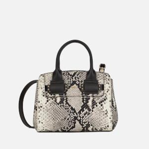 Furla Women's Lucky Mini Python Tote Bag - Roccia