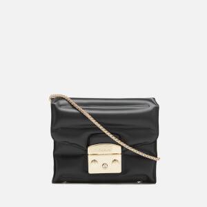 Furla Women's Metropolis Oxygen Mini Cross Body Bag - Onyx