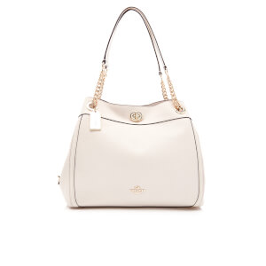 Coach Women's Turnlock Edie Shoulder Bag - Chalk