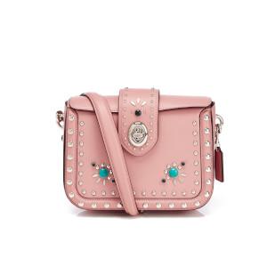 Coach Women's Page Cross Body Bag - Pink