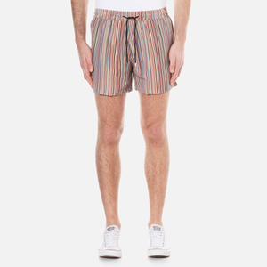 Paul Smith Men's Classic Multi Stripe Swim Shorts - Multi Stripe