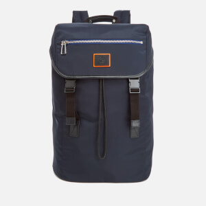 PS by Paul Smith Men's Nylon Long Rucksack - Black