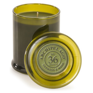 Archipelago Botanicals Wood Collection Oakmoss and Wood Jar Candle 244g