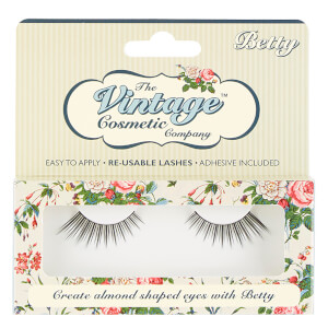 The Vintage Cosmetics Company Betty False Strip Lashes