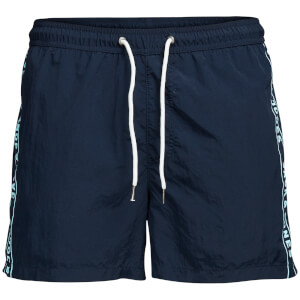 Jack & Jones Men's Classic Swim Shorts - Navy Blazer