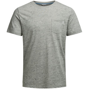 T-Shirt Homme Core Inject Jack & Jones - Gris Chiné