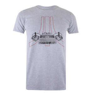 Atari Men's Joystick T-Shirt - Grey Heather