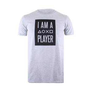 PlayStation Men's I Am A Player T-Shirt - Sports Grey