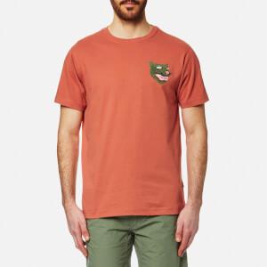 Maharishi Men's Platoon Tigre T-Shirt - Terracotta