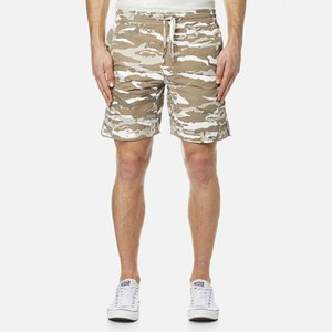 Maharishi Men's Camo Swim Shorts - Naturale