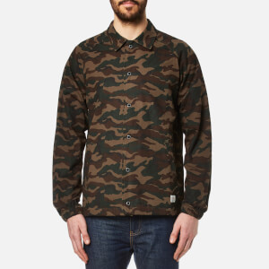 Penfield Men's Howard Camo Coach Jacket - Olive